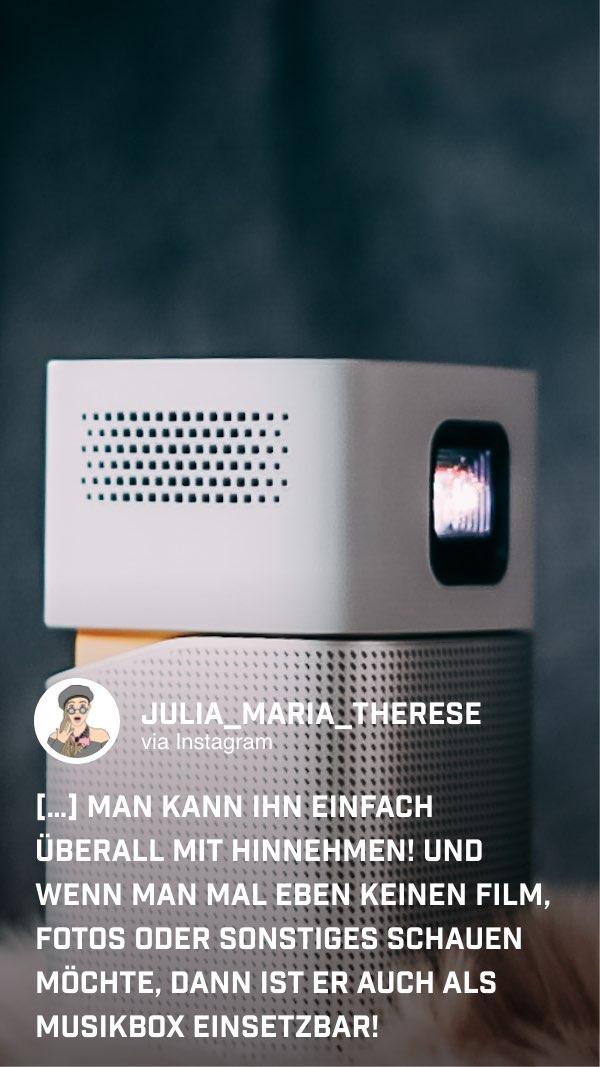 Auch der Sound des handlichen GV1 überzeugt @julia_maria_therese
