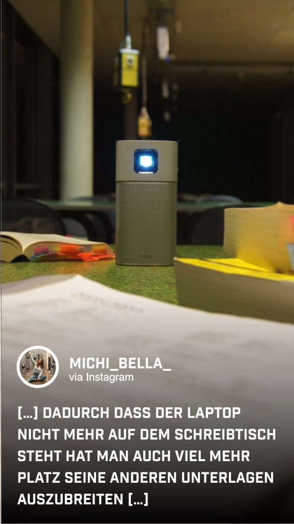 @michi_bella_ streamt nicht nur ihr Lernmaterial, sondern auch Musik zur Entspannung zwischendurch.