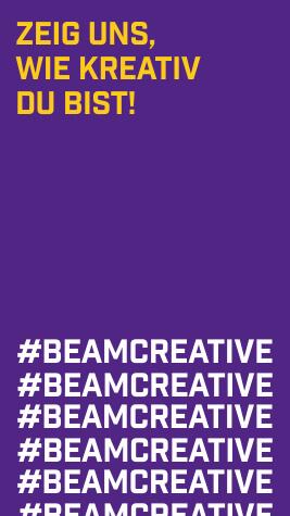 Zeig uns, wie kreativ du bist