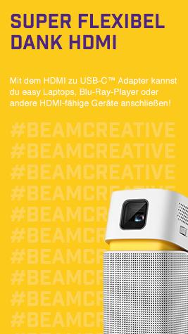 Stream einfach von deinem HDMI-fähigen Endgerät!