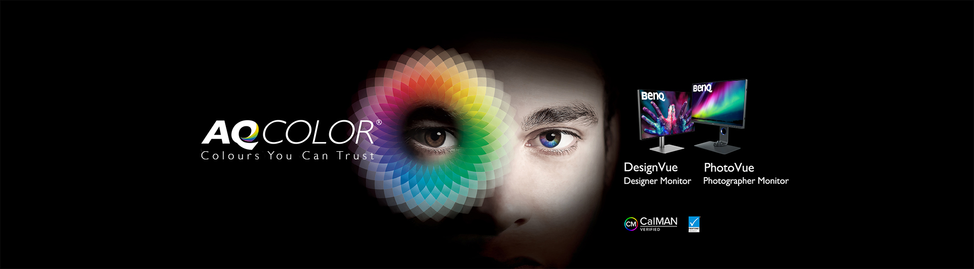 AQcolor monitor for graphic design and photographers