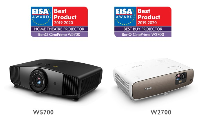 Best Home Theater Projector 2020.Internationally Renowned Eisa Awards Go To Benq S W2700 And