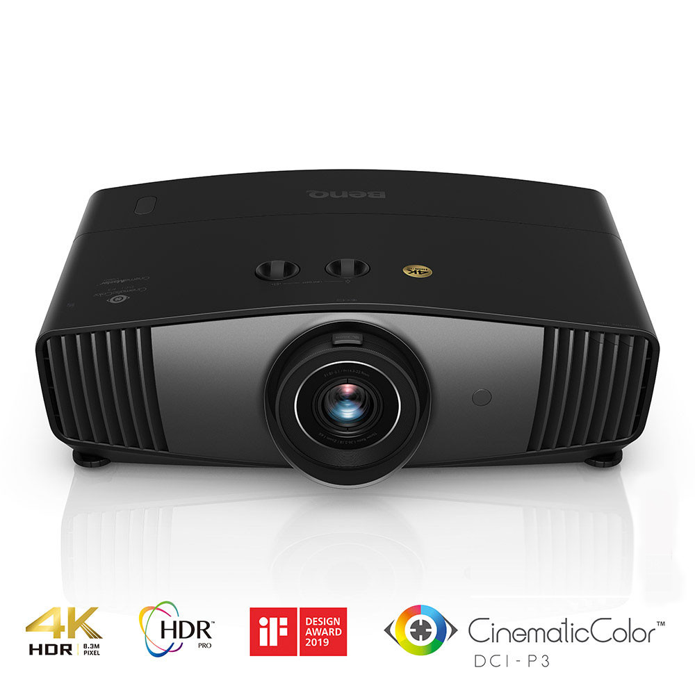 Best 4k Projector 2020.Benq W5700 4k Uhd Hdr Pro Wide Home Cinema Projector