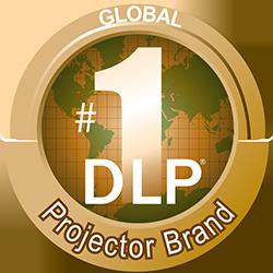 BenQ to najlepiej sprzedająca się marka projektorów DLP.