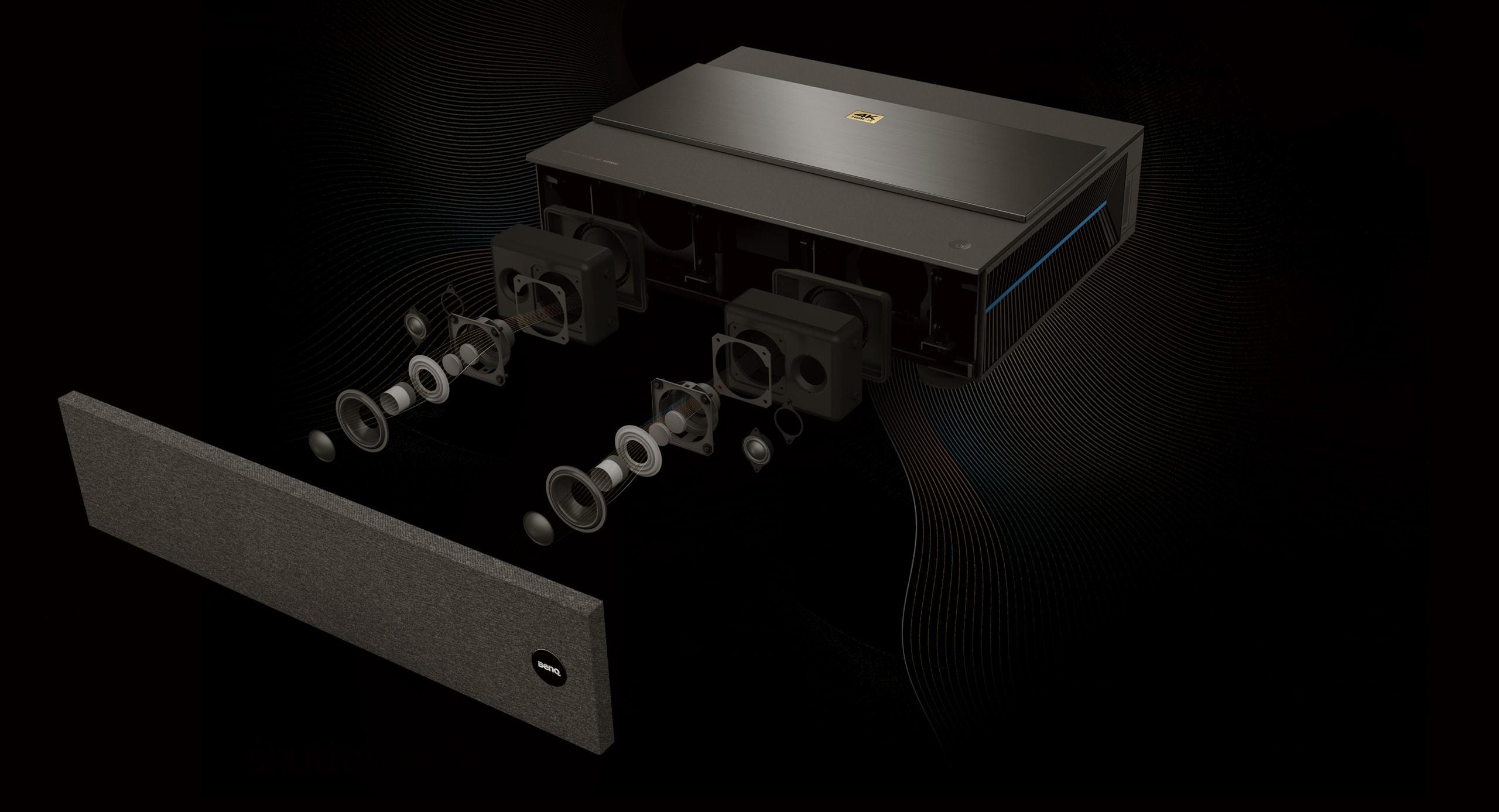 V6050 4K Laser TV ultra short throw Projector