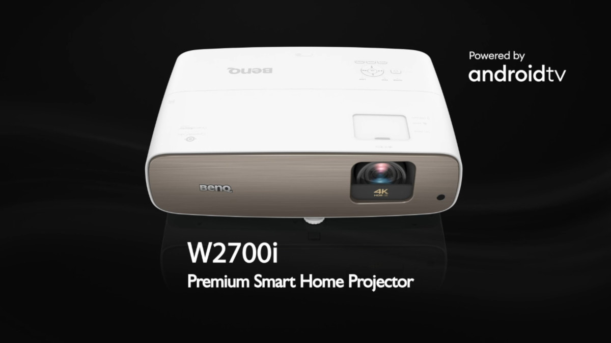 BenQ W2700i 4k smart projector for home