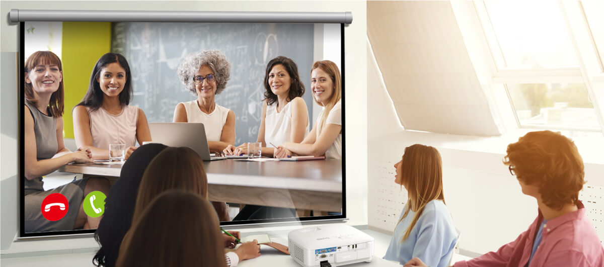 Start a video conference anytime.Get connected with just one click