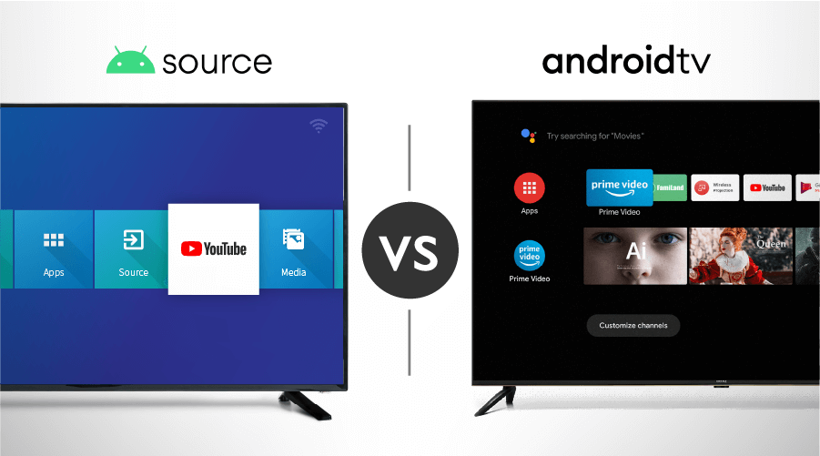Android Open Source vs. Android TV