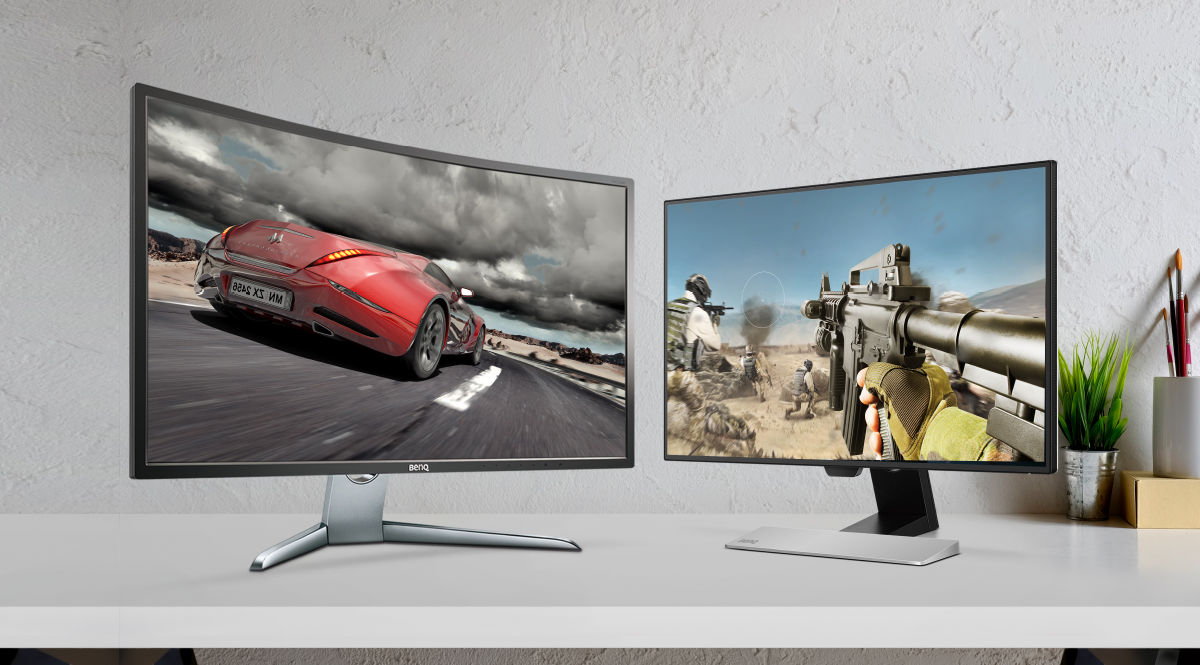 Curved monitor vs. flat monitor for excellent gaming experience