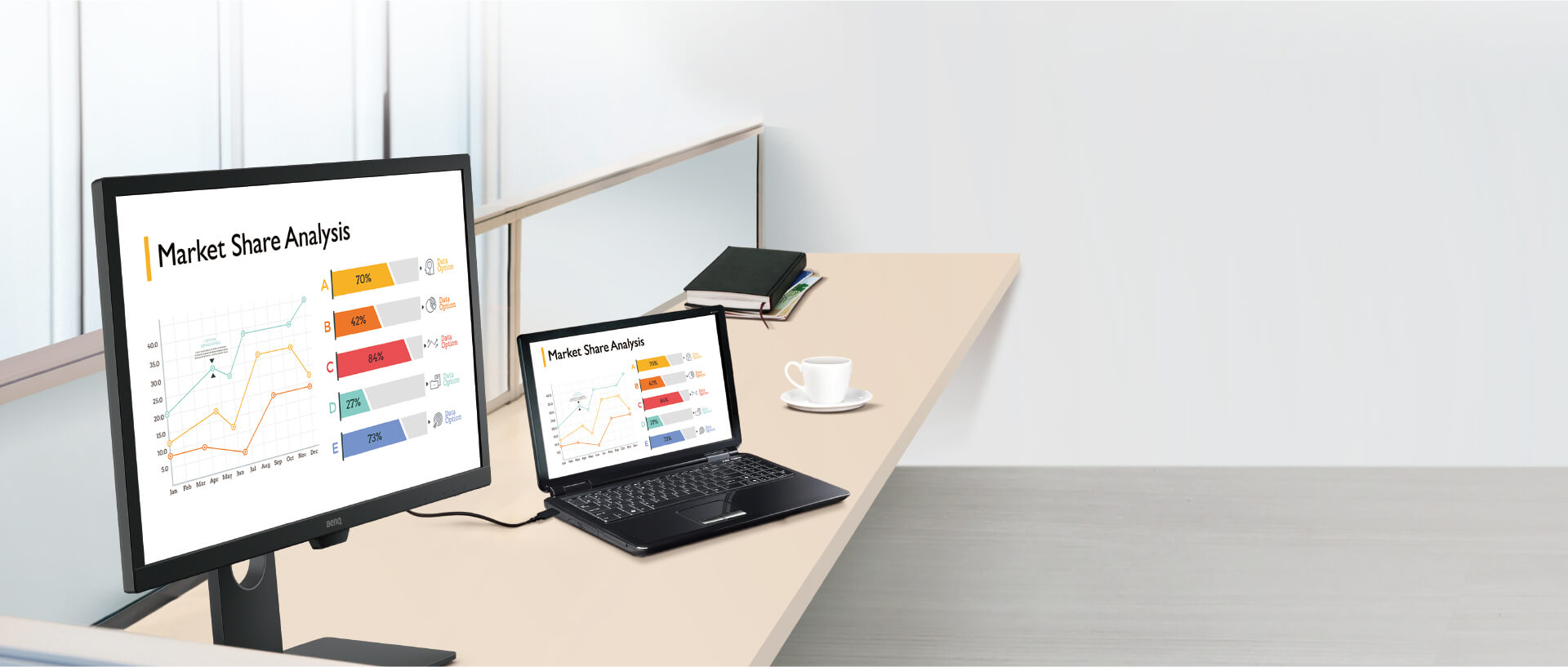 benq BL series business monitor enterprise-class image quality and ergonomic design to enhance productivity