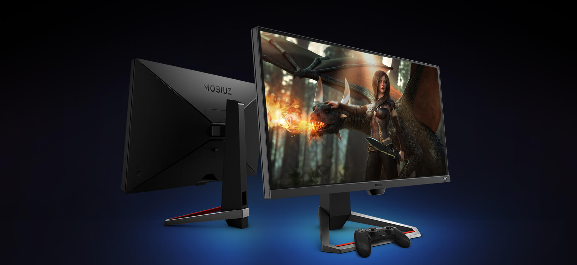 extreme control via benq ex2710 144hz gaming monitor