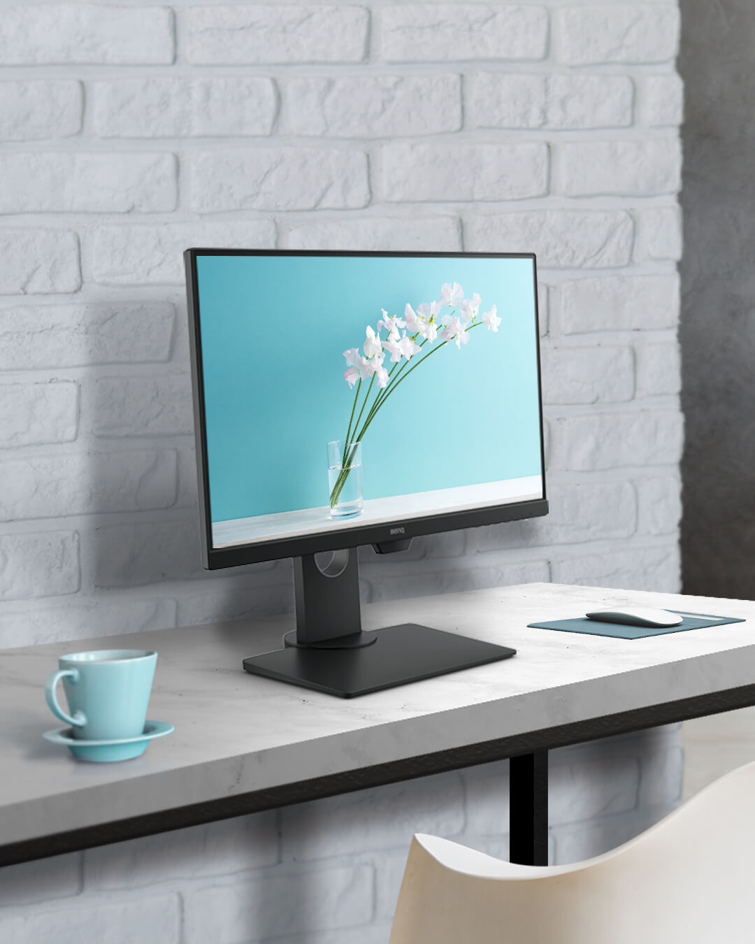 benq eyecare stylish monitor provides streamlined productivity and simplified lifestyle