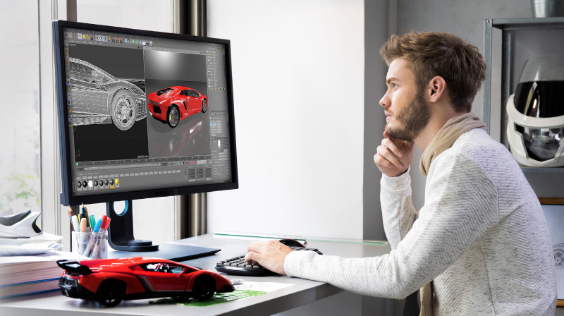Benq Designvue Ips Monitor For Graphic Design Product Page