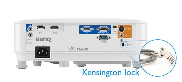 kensington lock mh550