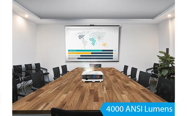 benq business projector high mh741 4000 1