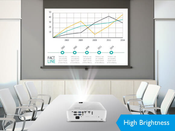 BenQ Meeting Room Business Projector , 1080p, hd, short throw, ceiling mountable projector
