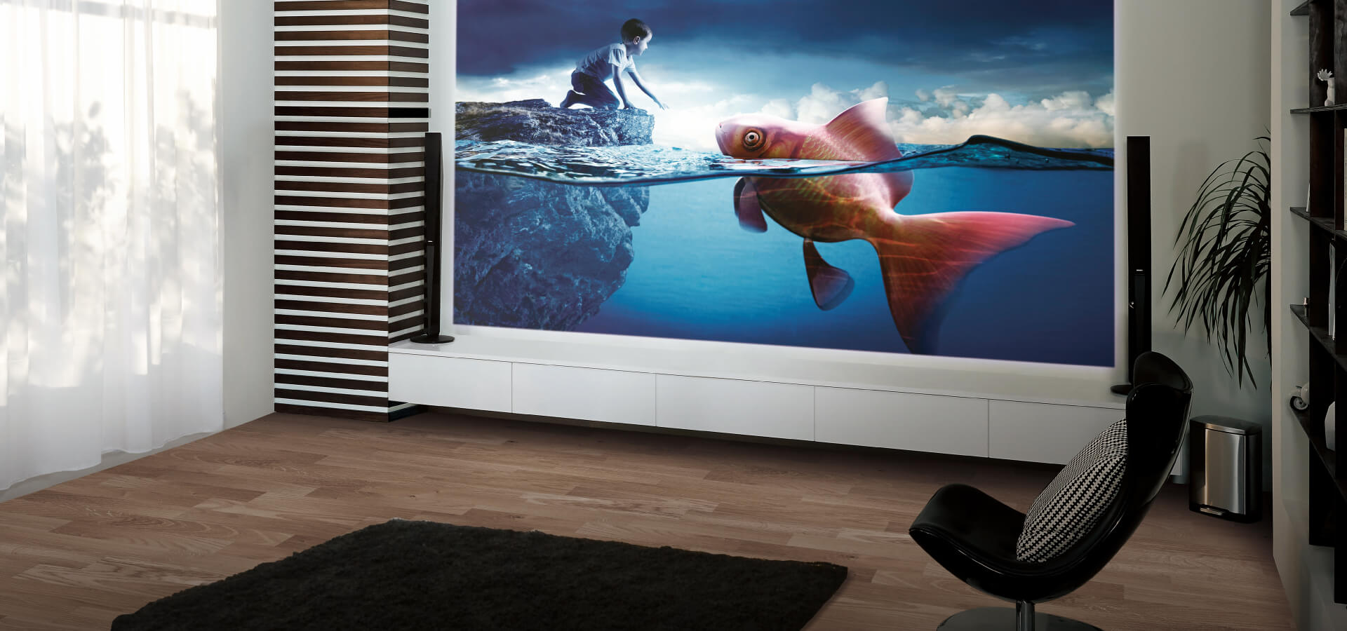 BenQ W1090 Full HD Home Cinema Projector for Sports