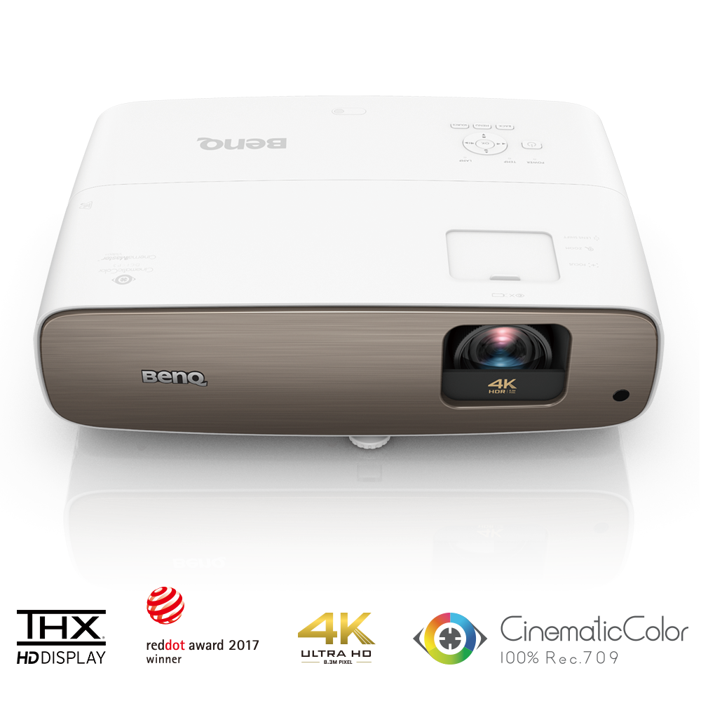 BenQ Launches True 4K HDR-PRO Home Cinema DLP Projector with Super