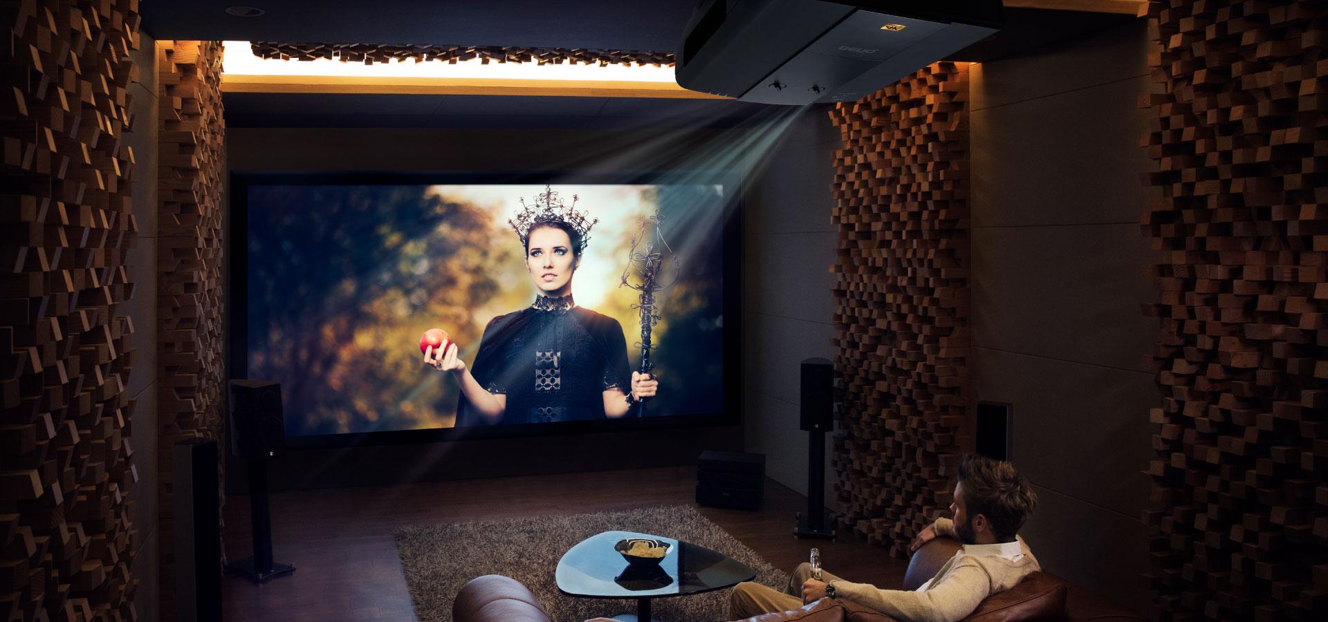 W20H CinePro Series with 20K,THX Pro Cinema Projector   BenQ ...