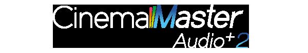 Logo của công nghệ cải tiến âm thanh CinemaMaster Audio + 2