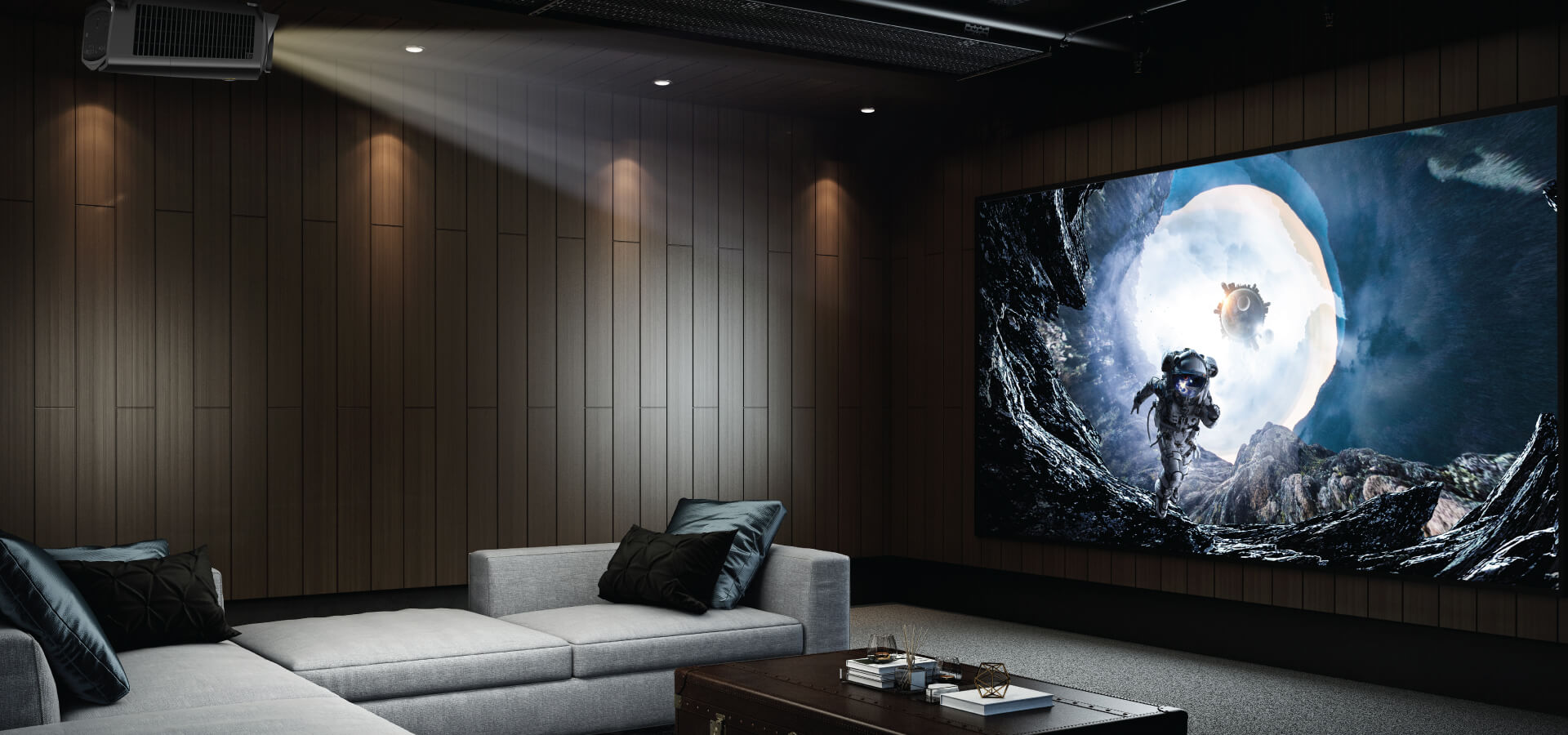 W2700 delivers the highest level of image accuracy to satisfy cinema fanatics' taste
