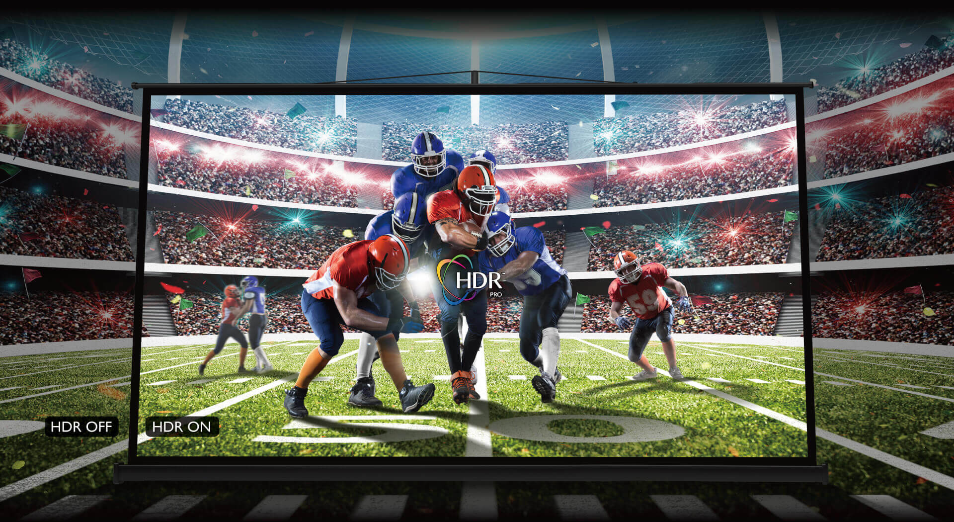 smart projector 4k tk850i for sports