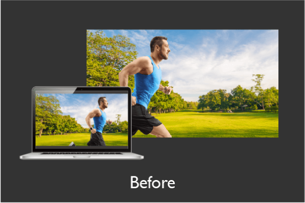 BenQ LU960UST Motion Blur Reduction and Fast Mode