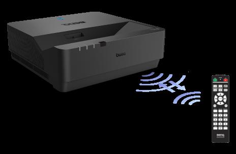 BenQ LU960UST remote control projector ID setting